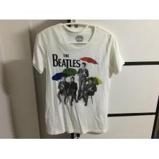 เสื้อยืด Topshop สกรีนลาย the beatles สิขสิทธิ์แท้ สภาพดี